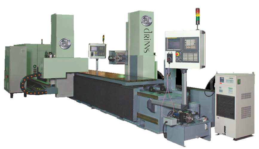 Drinns DCNC Series Double Head CNC Horizantal Milling Machine