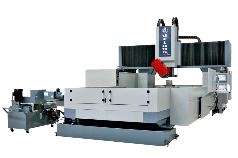 Drinns DCNC Series 4+1 Axis CNC Portal Milling Machine